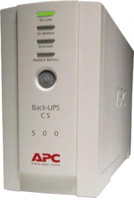 ИБП APC Back-UPS CS 500VA (BK500EI) - общий вид