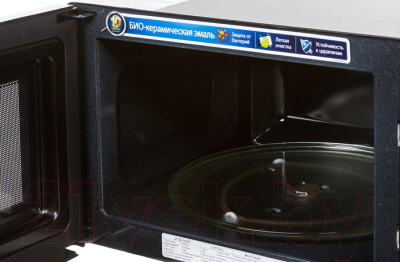 Микроволновая печь Samsung GE83XR - с открытой крышкой