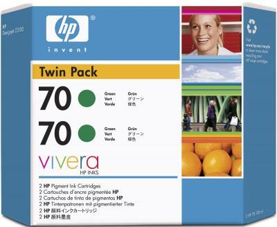 Комплект картриджей HP 70 (CB348A) - общий вид