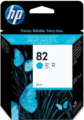 Картридж HP 82 (C4911A) - общий вид