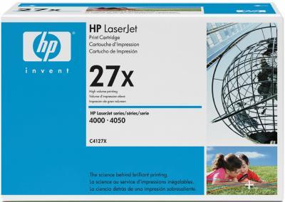 Тонер-картридж HP 27X (C4127X) - общий вид