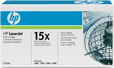 Тонер-картридж HP 15X (C7115X) - общий вид