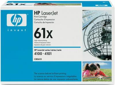 Тонер-картридж HP 61X (C8061X) - общий вид