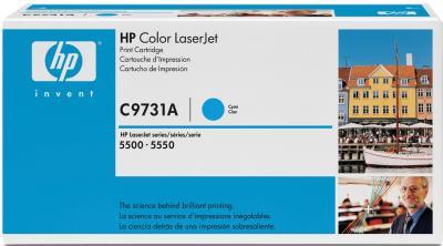 Тонер-картридж HP C9731A - общий вид