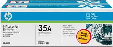Картридж HP 35A (CB435AD)  - общий вид