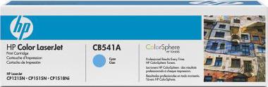 Тонер-картридж HP 125A (CB541A) - общий вид