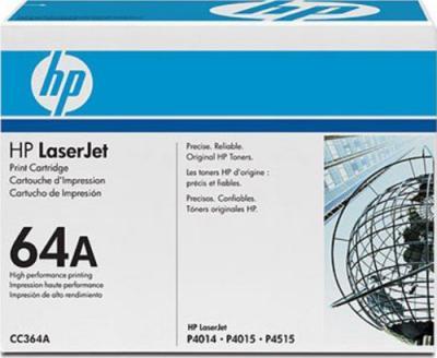 Тонер-картридж HP 64A (CC364A) - общий вид