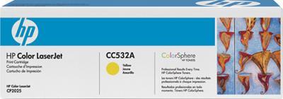 Тонер-картридж HP CC532A - общий вид