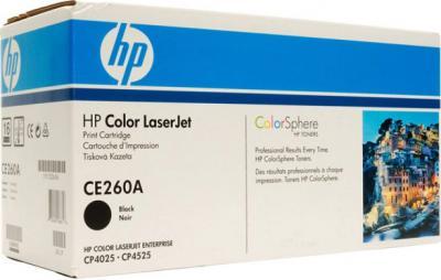 Тонер-картридж HP CE260A - общий вид