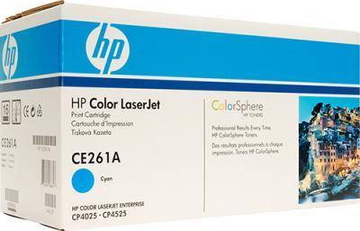 Тонер-картридж HP 648 (CE261A) - общий вид