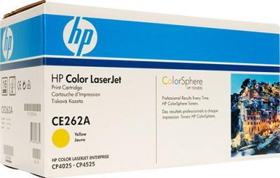 Тонер-картридж HP CE262A - общий вид