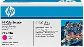 Тонер-картридж HP 648A (CE263A) - общий вид