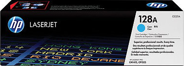 Картридж HP 128A (CE321A) - общий вид