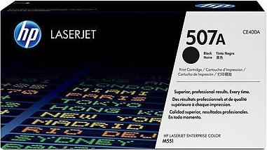 Картридж HP 507A (CE400A) - общий вид