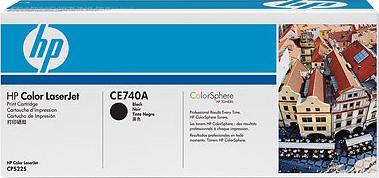 Картридж HP 307A (CE740A) - общий вид