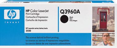 Тонер-картридж HP 122A (Q3960A) - общий вид