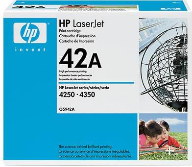 Тонер-картридж HP Q5942A - общий вид