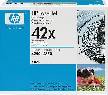 Тонер-картридж HP 42X (Q5942X) - общий вид