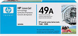 Тонер-картридж HP 49A (Q5949A) - общий вид