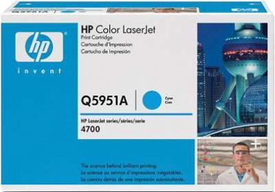 Тонер-картридж HP Q5951A - общий вид