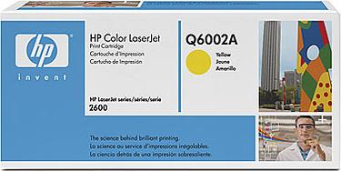 Тонер-картридж HP Q6002A  - общий вид