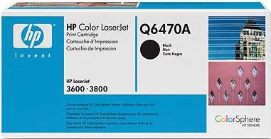 Тонер-картридж HP Q6470A - общий вид