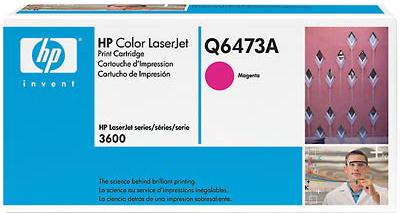 Тонер-картридж HP Q6473A - общий вид
