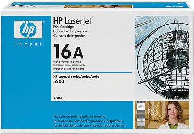 Картридж HP 16A (Q7516A) - общий вид