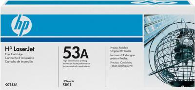 Тонер-картридж HP 53A (Q7553A) - общий вид