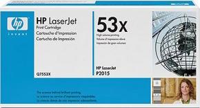 Тонер-картридж HP 53X (Q7553X)  - общий вид