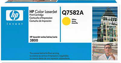 Тонер-картридж HP Q7582A - общий вид