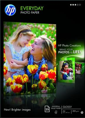 Фотобумага HP Everyday Semi-gloss Photo Paper (Q5451A) - общий вид