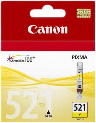 Картридж Canon CLI-521 Yellow - общий вид