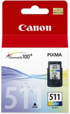 Картридж Canon CL-511 Color - общий вид