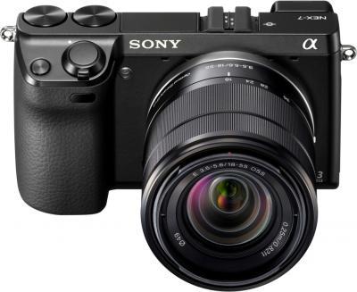 Беззеркальный фотоаппарат Sony NEX-7KB - Общий вид