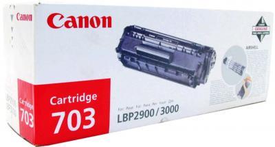 Тонер-картридж Canon Cartridge 703 Blaсk - общий вид
