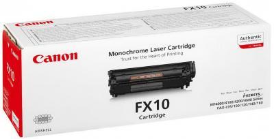 Тонер-картридж Canon FX-10 Blaсk - общий вид