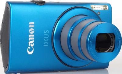 Компактный фотоаппарат Canon IXUS 230 HS Blue - Вид спереди