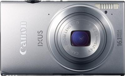 Компактный фотоаппарат Canon IXUS 240 HS Silver - Вид спереди