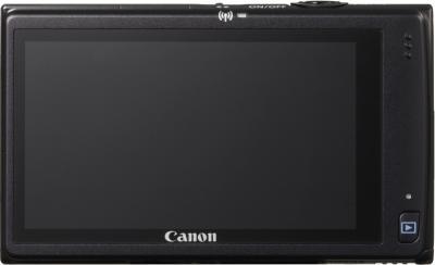 Компактный фотоаппарат Canon IXUS 240 HS Black - Вид сзади: дисплей