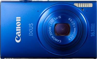 Компактный фотоаппарат Canon IXUS 240 HS (синий) - Вид спереди