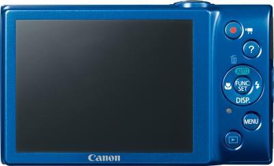 Компактный фотоаппарат Canon PowerShot A4000 IS Blue - Вид сзади