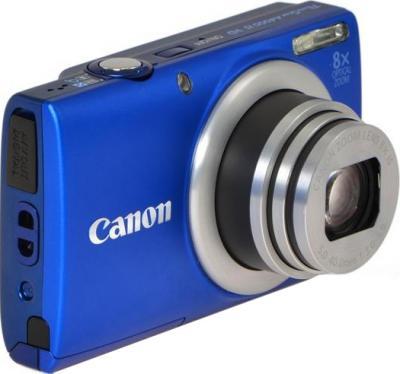 Компактный фотоаппарат Canon PowerShot A4000 IS Blue - Вид сбоку