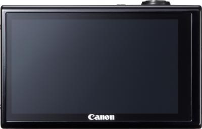 Компактный фотоаппарат Canon IXUS 510 HS Black - Вид сзади