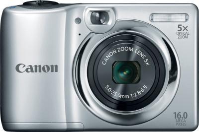 Компактный фотоаппарат Canon PowerShot A810 Silver - Общий вид