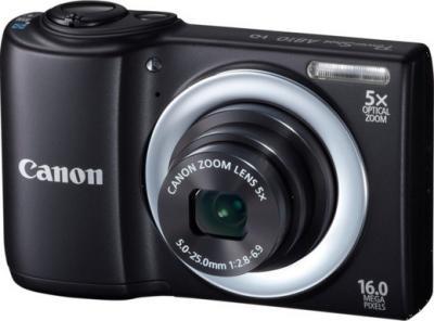 Компактный фотоаппарат Canon PowerShot A810 Black - Общий вид