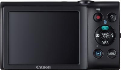 Компактный фотоаппарат Canon PowerShot A2400 IS Black - Вид сзади