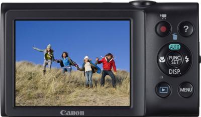 Компактный фотоаппарат Canon PowerShot A2400 IS Pink - Вид сзади