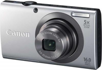 Компактный фотоаппарат Canon PowerShot A2300 Silver - общий вид