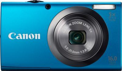 Компактный фотоаппарат Canon PowerShot A2300 Blue - Вид спереди